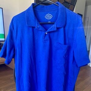 Mens Cobalt Blue St Johns Bay Polo